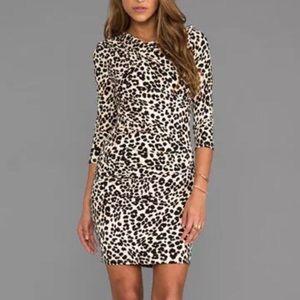 Juicy couture leopard print dress